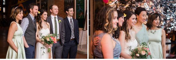 bridesmaids groomsmen